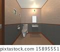 서양식, 화장실, CG 15895551