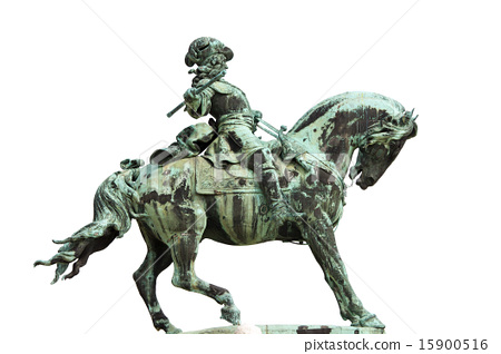 Statue of Prince Eugene of Savoy in Budapest 15900516
