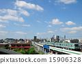 ชุด 05 ของท้องฟ้าสีฟ้าและ Ukifuku และ Tokyo Metro Chiyoda Line 15906328