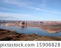 蓄水池 鮑威爾湖 湖泊 15906828