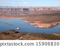 鮑威爾湖 蓄水池 湖泊 15906830