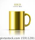 咖啡杯 金色 獎盃 15911281