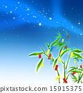 칠석 축제와 은하수 15915375