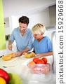 son, preparing, teaching 15929668