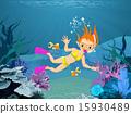 Diver Girl 15930489