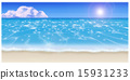 Illustration of the beach 15931233
