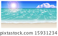 Illustration of the beach 15931234