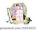 鏡子 女人 女性 15934033