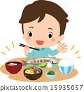 일본 요리, 일식, 저녁밥 15935657