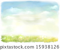 景色 自然 插圖 15938126