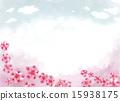 天空 花朵 花 15938175
