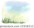 天空 花朵 花 15938312