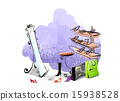 Painter Works Background_383 15938528