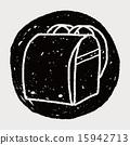 doodle School bag 15942713