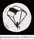 Doodle Parachute 15944171