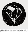 Doodle Parachute 15944172