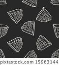 waffle doodle seamless pattern background 15963144