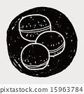 macaron doodle 15963784