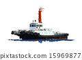 拖船 船 划船 15969877