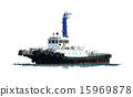 船 划船 拖船 15969878