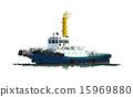 拖船 船 划船 15969880