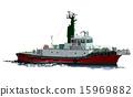 拖船 船 划船 15969882
