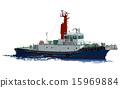 拖船 船 划船 15969884