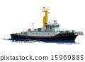 拖船 船 划船 15969885