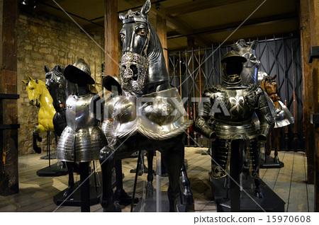 중세 영국 갑옷 컬렉션 (갑옷 투구 馬甲 등) 15970608