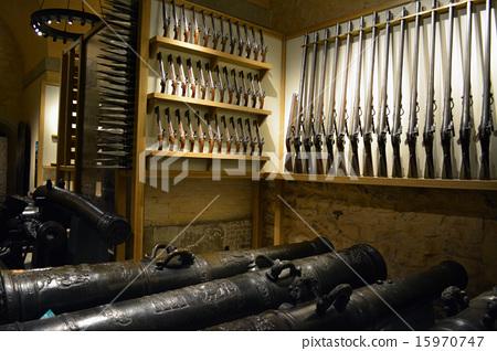 중세 영국의 무기 컬렉션 (총과 대포) 15970747