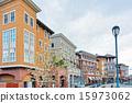downtown, napa, landscape 15973062
