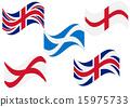 Flag England Scotland 15975733