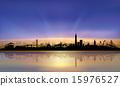 San Francisco colorful skyline sunset 15976527