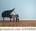 計算機圖形圖像 鋼琴 器械 15976990