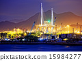 Container Cargo freight ship working crane bridge 15984277