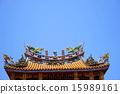 2 월 중국 중화권 풍경 26 건물 조각 15989161
