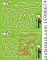 Guide dog maze 15996674
