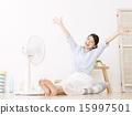 客厅 扇子 电风扇 15997501