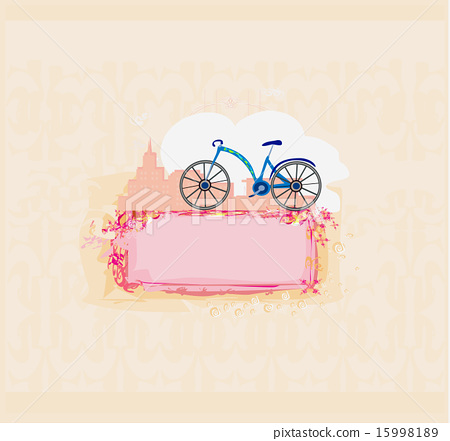 vector bicycle poster 15998189