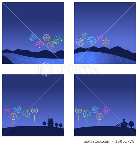 Christian Christmas on Blue Background with Birth of Jesus and Star Clipart  | k63538695 | Fotosearch