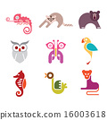 Animal Icon Set 16003618