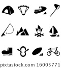 Outdoor icon set 16005771