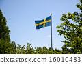 swedish, backlit, flag 16010483