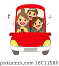 Mom Driving Kids School Singing 16011580