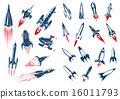 大波斯菊 宇宙的 火箭 16011793
