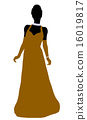 Cinderella Silhouette Illustration 16019817