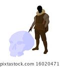 William Shakespeare Illustration Silhouette 16020471