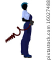 Female Mechanic Silhouette 16027488