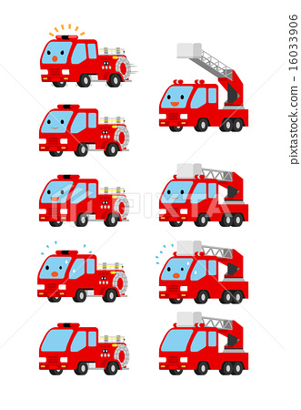 emergency vehicle, hook and ladder truck, fire engine 16033906