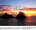 在多多加島上的日落 16038777